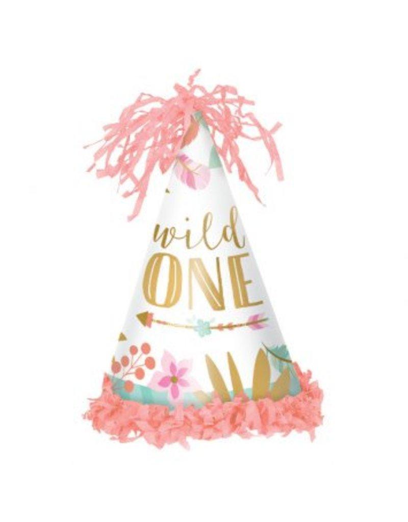 Boho Birthday Girl Cone Hat