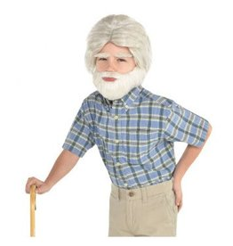 Grandpa Facial Hair Set - Child Size