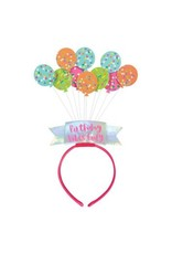 Birthday Balloons Headband