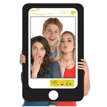 Giant Cell Phone Selfie Photo Frame