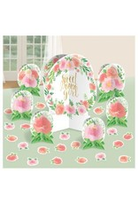 Floral Baby Table Centerpiece Decorating Kit