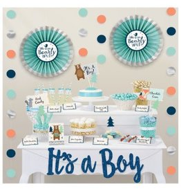 Bear-ly Wait Deluxe Buffet Decorating Kit