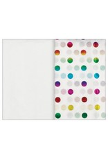 Rainbow Dot Hot-Stamped Tissue (8)
