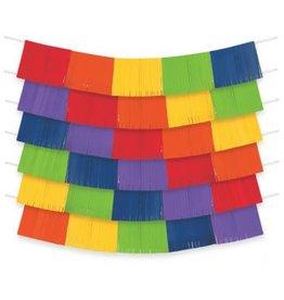 Rainbow Foil Decorating Backdrop