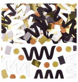 New Mix Confetti - Black, Silver, Gold