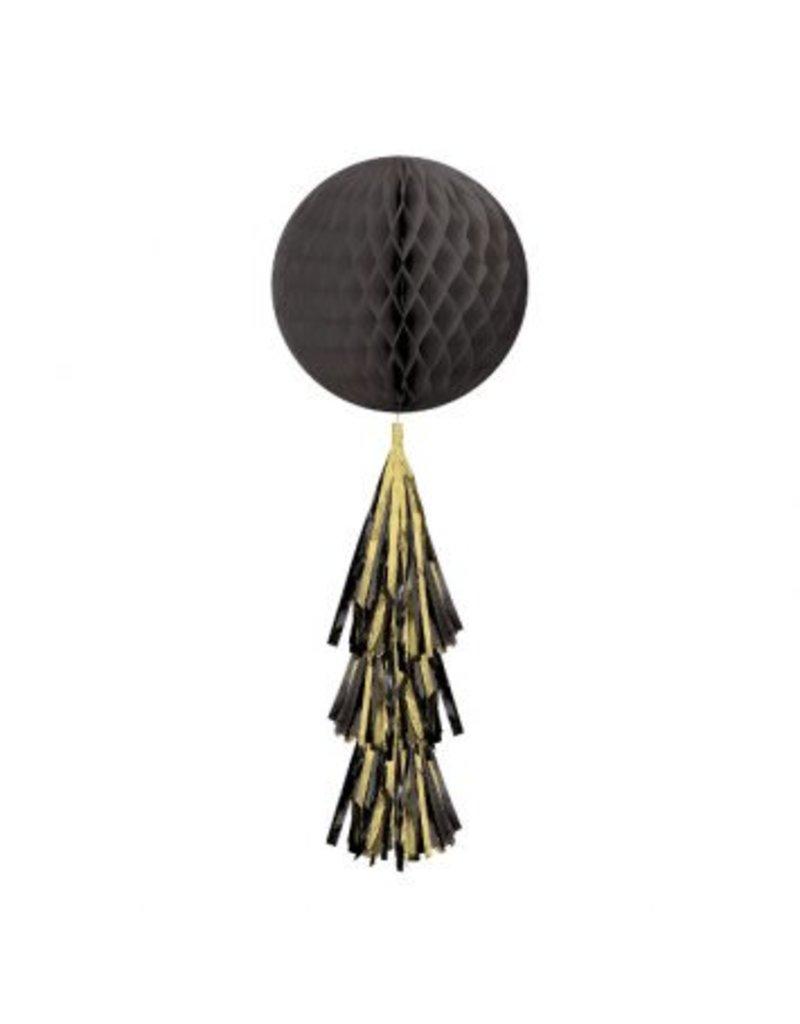 Black Honeycomb Ball w/ Tail