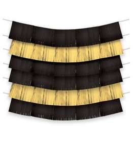 Black & Gold Foil Decorating Backdrop