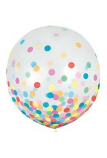 "24"" Confetti Filled Balloon (With Helium)"