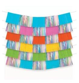 Multi-Colour Foil Decorating Backdrop