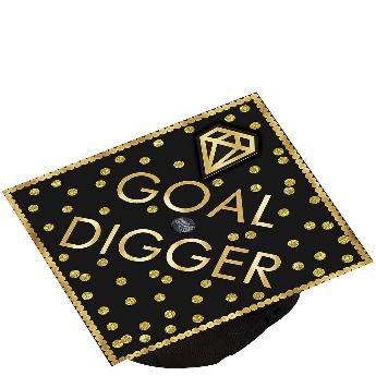 Goal Digger Graduation Cap Topper