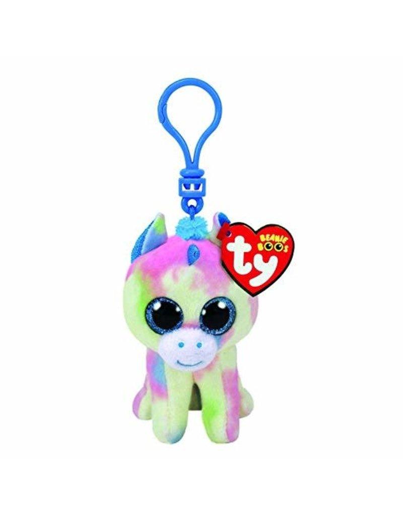 Beanie Boos Blitz Unicorn Keychain