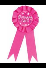 Birthday Girl Award Ribbon