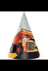 Big Dig Construction Party Hats (8)
