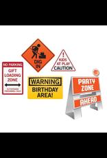 Big Dig Construction Easel & Sign Set
