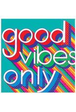 Good Vibes Luncheon Napkin