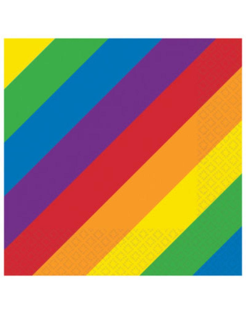 Rainbow Luncheon Napkins (16)