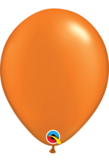 "11"" Pearl Mandarin Orange Latex Balloon Uninflated"