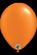 "11"" Pearl Mandarin Orange Latex Balloon (Without Helium)"