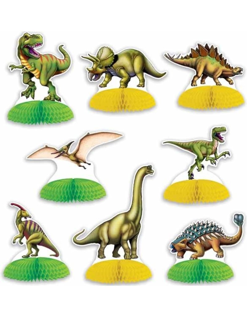 "Dinosaur Mini Centerpieces 4""-6"" (8)"