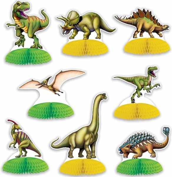 "Dinosaur Mini Centerpieces 4""-6"" (8)"