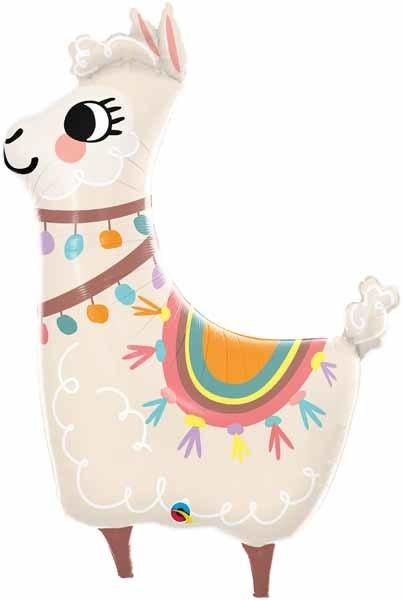 "Loveable Llama 45"" Mylar Balloon"