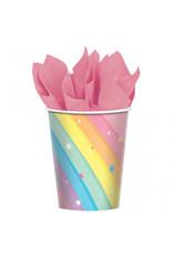 Magical Rainbow Birthday 9oz Cups (8)
