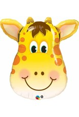 "Jolly Giraffe 32"" Mylar Balloon"