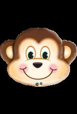 """Mischievous Monkey 35"""" Mylar Balloon"""
