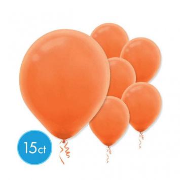 Orange Peel Solid Color Latex Balloons (15)