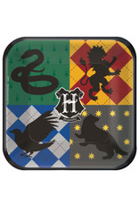 "Harry Potter™ Square 9"" Plates (8)"