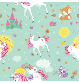 Magical Unicorn Printed Gift Wrap