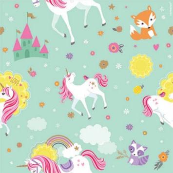 Magical Unicorn Printed Gift Wrap