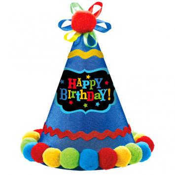 Birthday Brights Cone Hat