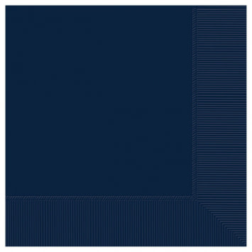 True Navy Luncheon 2-Ply Napkins (50)