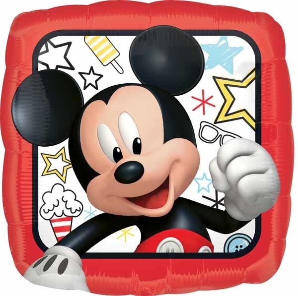 "Mickey Roadster 18"" Mylar Balloon"