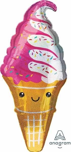 """Ice Cream Party 41"""" Mylar Balloon"""