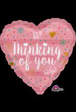 "Thinking Of You 18"" Mylar Balloon"