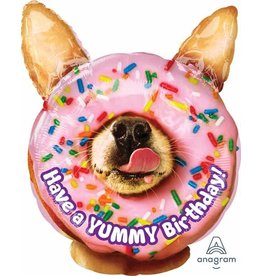 "Avanti Yummy Birthday 18"" Mylar Balloon"