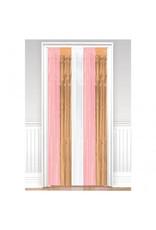 Rose Gold/Blush Door Curtain