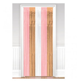 Rose Gold/Blush Door Curtain