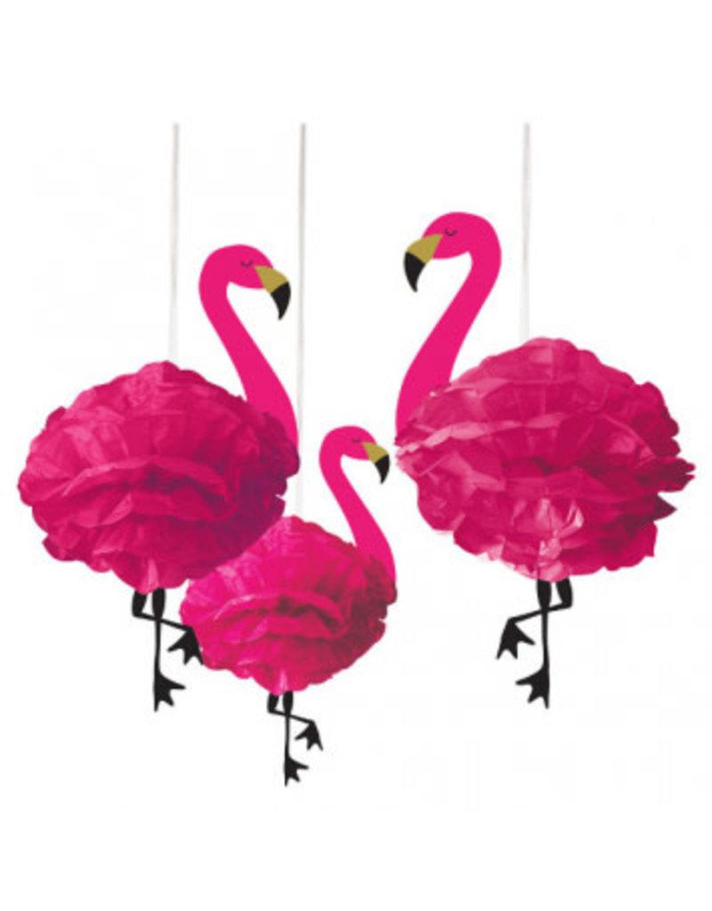 Flamingo Fluffy Decorations
