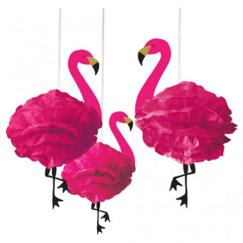 Flamingo Fluffy Decorations