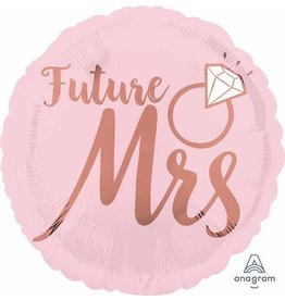 "Future Mrs Blush Wedding 18"" Mylar Balloon"