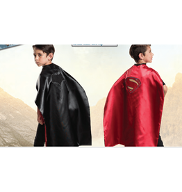 Batman and Superman 2 in 1 Reversible Cape