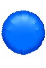 """Sapphire Blue Round 18"""" Mylar Balloon"""