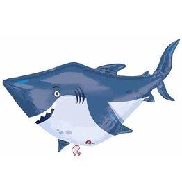 "Ocean Buddies Shark 40"" Mylar Balloon"