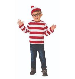 Child Where's Waldo Child Size Medium (8-10)