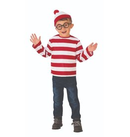 Child Where's Waldo Child Size Large (12-14)