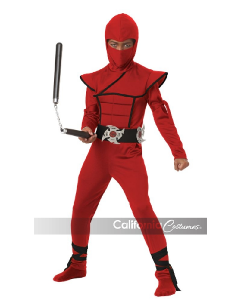 Child Red Stealth Ninja Large (12-14)