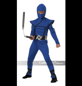 Children's Costume Blue Stealth Ninja Large